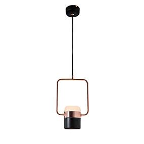 billige Hengelamper-OEM Sirkelformet Anheng Lys Omgivelseslys eloksert galvanisert Metall Kreativ, Smuk Generisk Varm Hvit
