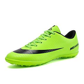 baratos Sapatos Esportivos Femininos-Mulheres Tênis Sem Salto Ponta Redonda Couro Ecológico Esportivo Futebol Primavera Verão Preto / Verde / Laranja