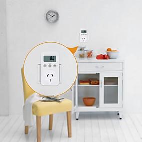 voordelige Super Korting-au / eu / us plug plug-in digitale wattmeter lcd energiemonitor power meter electriciteit electric swr meter use monitoring socket