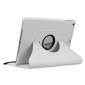 billige Nettbrettilbehør-Etui Til Apple iPad New Air (2019) / iPad Air / iPad 4/3/2 360° rotasjon / Støtsikker / Auto Sove / Våkne Heldekkende etui Ensfarget Hard PU Leather / iPad Pro 10.5 / iPad (2017)