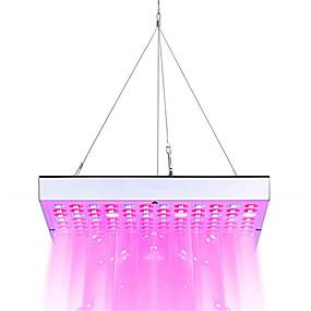 abordables Lampe de croissance LED-1pc 45 W 3600 lm 144 Perles LED Spectre complet Pour Greenhouse Hydroponic Luminaire croissant Blanc Rouge Bleu 85-265 V Serre de légumes