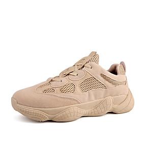 baratos Sapatos Esportivos Masculinos-Homens Tênis Clunky Com Transparência Primavera Verão / Outono & inverno Esportivo / Casual Tênis Preto / Cinzento / Khaki