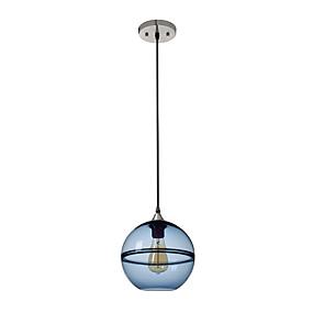 abordables Plafonniers-Globe Lampe suspendue Lumière d'ambiance Finitions Peintes Verre Verre 110-120V / 220-240V