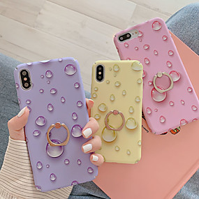 cheap Cool & Fashion Cases for iPhone-Case For Apple iPhone XS / iPhone XR / iPhone XS Max Fidget Spinner / with Stand / Pattern Back Cover Cartoon PC