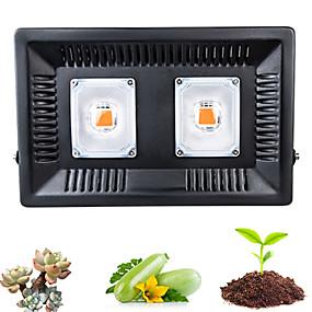 billige LED Økende Lamper-1set 100 W 1000 lm 1 LED perler Fullt Spektrum For drivhushydroponisk Voksende lysarmatur 220 V 110 V Vegetabilsk drivhus