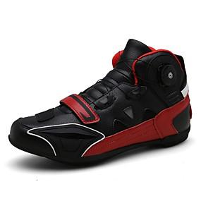 baratos Sapatos Esportivos Masculinos-Homens Sapatos Confortáveis Couro Verão / Primavera Verão Esportivo / Casual Tênis Ciclismo / Caminhada Respirável Preto / Amarelo / Vermelho