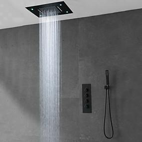 billige Sale-Dusjkran - Moderne Malte Finishes Annet Keramisk Ventil Bath Shower Mixer Taps
