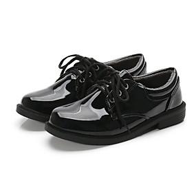povoljno Kids' Oxfords-Dječaci PU Oksfordice Velika djeca (7 godina +) Udobne cipele Crn Jesen