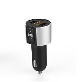 billige Nyankomne i oktober-bilsett fm sender bluetooth c26s mp3-spiller trådløs radioadapter USB-lader