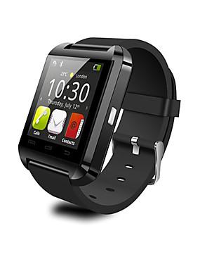 billige More-u8 smart watch bt 4.0 billig fitness tracker støtte varsle kompatible samsung / sony android telefoner og eple