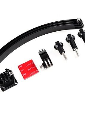 billige Sport og friluftsliv-TOZ hjelm forlengelse arm selv bilde buet monteringsteipen kamera mount for GoPro hero4 / 3 + / 3 / 2/1