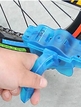 abordables Sports & Loisirs-Brosse de Nettoyage de Chaîne Velo Outil de Nettoyage de Chaîne de Vélo Lavage facile Nettoyage Rotatif Brosses Rotatives à 360 ° Pratique Pour Vélo de Route Vélo tout terrain / VTT Cyclisme