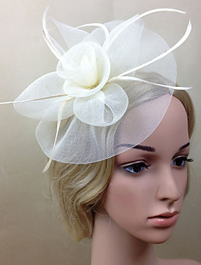 cheap The Wedding Store-Net Fascinators / Flowers with 1 Wedding / Special Occasion Headpiece