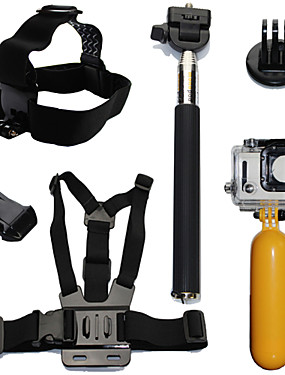 cheap Sports & Outdoors-Accessory Kit For Gopro Waterproof Floating 6 pcs For Action Camera Gopro 6 Gopro 5 Xiaomi Camera Gopro 4 Gopro 4 Session Diving Surfing Ski / Snowboard Plastic Fiber Carbon / Gopro 3+ / Gopro 3