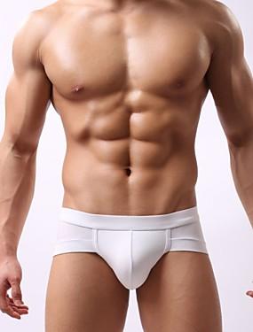 abordables Ropa Interior y Calcetines de Hombre-Hombre Súper Sexy Boxers Cortos Un Color 1box Azul Rosa Gris Claro L XL