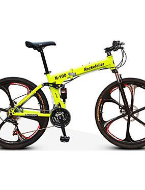 povoljno Sport és outdoor-Mountain Bike / Folding bicikle Biciklizam 21 Brzina 26 inča / 700CC Dvostruka disk kočnica Suspension Fork Stražnja suspenzija Anti-Slip Aluminijska legura / Čelik / Da / #