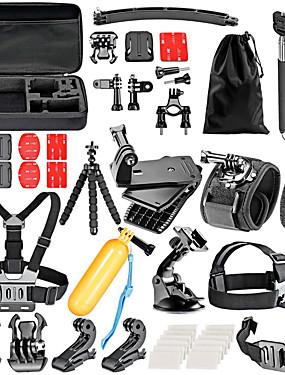 abordables Sports & Loisirs-Accessoires Kit 36 pcs Pour Caméra d'action Gopro 6 Gopro 5 Xiaomi Camera Gopro 4 Gopro 3 Natation Plongée Ski Plastique Nylon EVA / Gopro 1 / Gopro 2 / Gopro 3+ / Sports DV / SJCAM