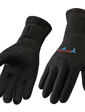 cheap Sports & Outdoors-Bluedive Diving Gloves 3mm Nylon Neoprene Full Finger Gloves Tactical Warm Wearproof Diving Boating Kayaking / Kid's