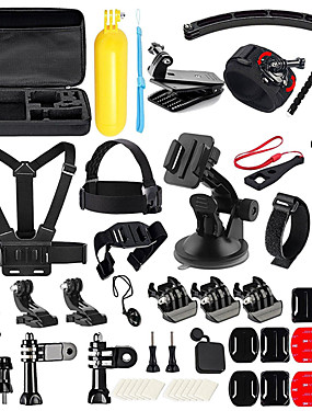cheap Sports & Outdoors-Accessory Kit For Gopro 50 in 1 Multi-function Foldable For Action Camera Gopro 6 Gopro 5 Xiaomi Camera Gopro 4 Gopro 3 Diving Surfing Ski / Snowboard Velcro Neoprene ABS / SJCAM / Android Cellphone