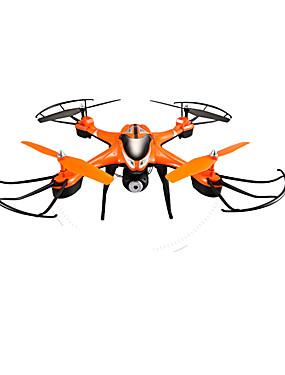 billige Salg-RC Drone SJ  R / C T30CW 4 Kanal 2.4G Med HD-kamera 0.5MP Fjernstyrt quadkopter En Tast For Retur / Sveve Fjernstyrt Quadkopter / / CE