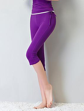povoljno Sport és outdoor-Žene Nadrágok Sportski Jednobojni Modal Donji Yoga Sposobnost Ples Odjeća za rekreaciju Fitness, trčanje & Yoga Rastezljivo