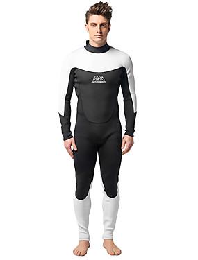 povoljno Sport és outdoor-MYLEDI Muškarci Dugo mokro odijelo Debelo 3mm Neopren Ronilačka odijela Vodootporno Ugrijati Plivanje Ronjenje Proljeće Ljeto Jesen