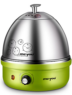 cheap Egg Cooker-Stainless Steel 220 V 350 W Mini Style / Detachable / Creative Kitchen Appliance