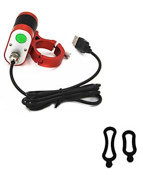 billige Sport og friluftsliv-ANOWL Sykkellykter 2000 lm LED LED 2 emittere 3 lys tilstand Bærbar Reise Størrelse Enkel å bære Sykling