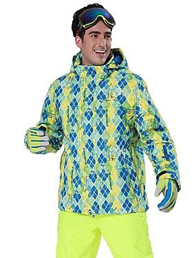 povoljno Sport és outdoor-Phibee Muškarci Skijaška jakna Vodootporno Vjetronepropusnost Toplo Skijanje Poliester Jakna Skijaška odjeća