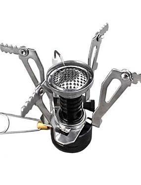 ieftine Sport i aktivnosti na otvorenom-Sobă de Backpacking Simplu Portabil Pliabil pentru MetalPistol În aer liber Camping Exterior Picnic Argintiu