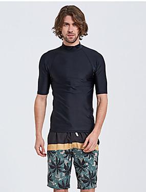povoljno Sport és outdoor-Muškarci Spandex Anatomski dizajn Kratkih rukava Surfanje Daskanje Wakeskating  Jednobojni Ljeto / Mikroelastično
