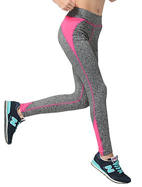 abordables Sports & Loisirs-Femme Mosaïque Pantalon de yoga Des sports Bloc de Couleur Pantalons / Surpantalons Bas Pilates Exercice & Fitness Course / Running Grandes Tailles Tenues de Sport Respirable Séchage rapide Power