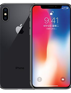 ieftine Cadouri Gratuite-Apple iPhone X A1865 5.8 inch 256GB Smartphone 4G - Renovate(Gri) / 12