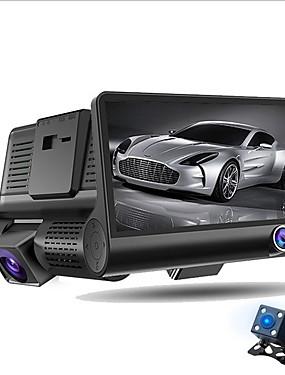 voordelige 40% OFF-ziqiao a32 fhd 1080p auto dvr 4 inch dash camera 3 cameralens nachtzicht auto dvr