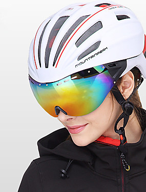 povoljno Sport és outdoor-Mountainpeak Odrasli Bike kaciga BMX Kaciga 20 Ventilacijski otvori Integralno oblikovana Light Weight Mreža za kukce ESP + PC Sportski Klizanje na ledu Biciklizam / Bicikl Bicikl - Crvena Zelen Plava