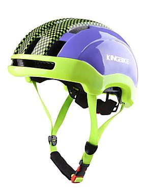 cheap Sports & Outdoors-Kingbike Adults' Bike Helmet 23 Vents CE Impact Resistant Ventilation EPS PC Sports Road Bike Mountain Bike MTB Outdoor Exercise - Green Blue Men's Women's Unisex