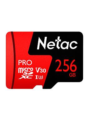 ราคาถูก ไมโคร SD การ์ด/TF-Netac 256GB การ์ดหน่วยความจำ UHS-I U3 / V30 P500pro