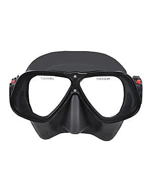 billige Sport og friluftsliv-YON SUB Dykkermasker Under vann To-Vinduer - Svømming Silikon - Til Voksen Svart / Anti-Tåke / Tørrdrakt - topp
