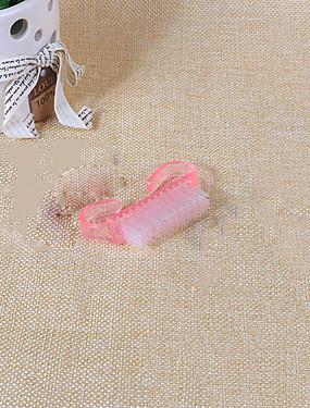 voordelige Nagelscharen & clippers-1pc Muovi Nail Cleaning Tools Voor Teennagel Universeel / Klassiek / Duurzaam White Series Nagel kunst Manicure pedicure Klassiek / Standaard Dagelijks