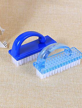 voordelige Nagelscharen & clippers-1pc Muovi Nail Cleaning Tools Voor Teennagel Mat / Waterbestendig / Duurzaam White Series Nagel kunst Manicure pedicure Klassiek / Standaard Dagelijks