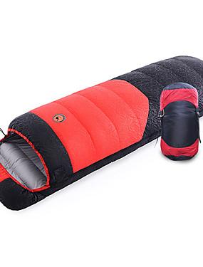 ieftine Sport i aktivnosti na otvorenom-Shamocamel® Sac de dormit În aer liber Sac de Dormit Dreptunghiular 0~30 °C Single Puf de Rață Respirabil Keep Warm Ultra Ușor (UL) Απαλό Durabil 210*80 cm Toamnă Iarnă pentru Camping & Drumeții