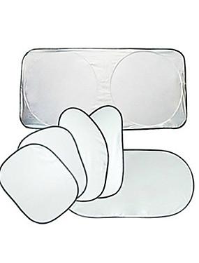 povoljno Weekly Deals2-6pcs / set auto prozor sjenilo univerzalna jednostavna instalacija prozora suncobran