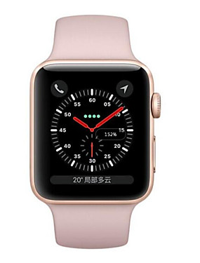 abordables Montre remise à neuf-Apple Apple Watch Series 3 GPS Montre Connectée iOS Remis à neuf Bluetooth Imperméable Ecran Tactile GPS Moniteur de Fréquence Cardiaque Calories brulées Minuterie Chronomètre Podomètre Rappel