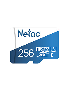 abordables Carte Micro SD/TF-Netac 256GB Micro SD / TF Carte mémoire UHS-I U3 100MB/s Caméra