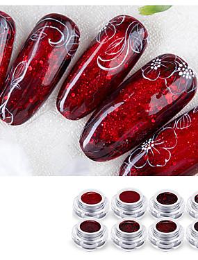voordelige Nagelscharen & clippers-1 set Plastic + PCB + Water Resistant Epoxy Cover Nail Painting Tools Voor Vingernagel Veiligheid / Milieuvriendelijk / Ergonomisch Ontwerp White Series Nagel kunst Manicure pedicure Stijlvol