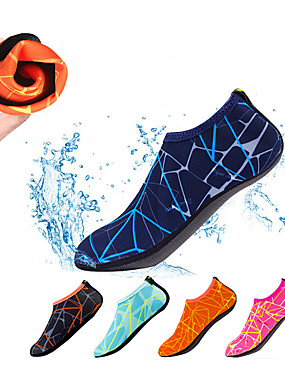 billige Sport og friluftsliv-Neoprensokker Aqua sokker Polyester til Voksen - Anti-Skli Svømming Dykking Snorkling Vannsport