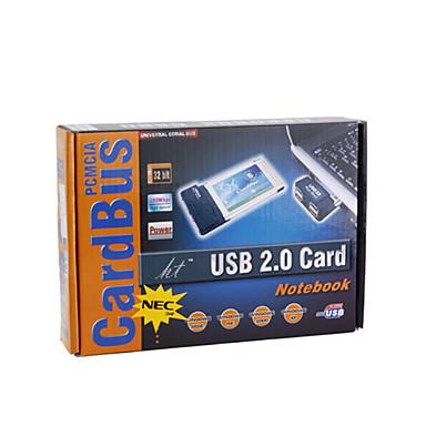 2 ports USB 2.0 Extension de carte PCMCIA pour les ordinateurs portables