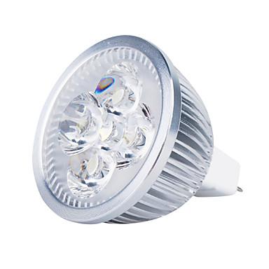3000 lm GU5.3(MR16) LED reflektori MR16 4 LED diode Visokonaponski LED Toplo bijelo DC 12V