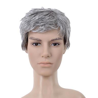 Мужская парик Парики для женщин Прямой Карнавальные парики Косплей парики