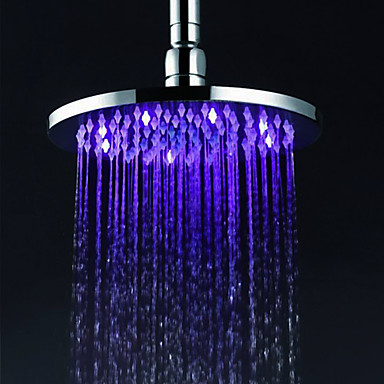 Çağdaş Yağmur Duşları Krom özellik - Yağmur Duşu LED, Duş başlığı